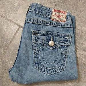 True Religion Joey Big T blue jeans size 31.